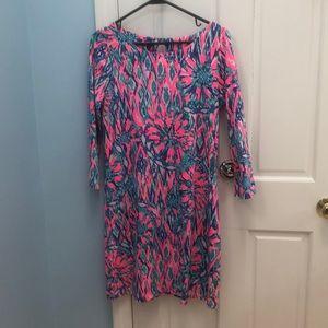 a116a8b8523 Lilly Pulitzer Dresses - nwot lily pulitzer bay dress tiki pink shake it m